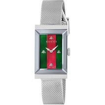 Gucci  YA147401 G-Frame Women Silver  Mesh Strap Watch - $985.99