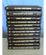 Sackett Series By Louis L'amour – 11 Leatherette/ Hard Cover Books – Wes... - $157.23