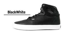 Vans Shoes Bushwick Bio Wash Black White Sz 6.5 Mens SK8 Hi Skate Ultracush New - $46.71
