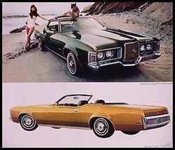 1972 Mercury Dlx. 24 p. Brochure- Cougar XR7 Monterey Montego Comet, Xln... - $8.32