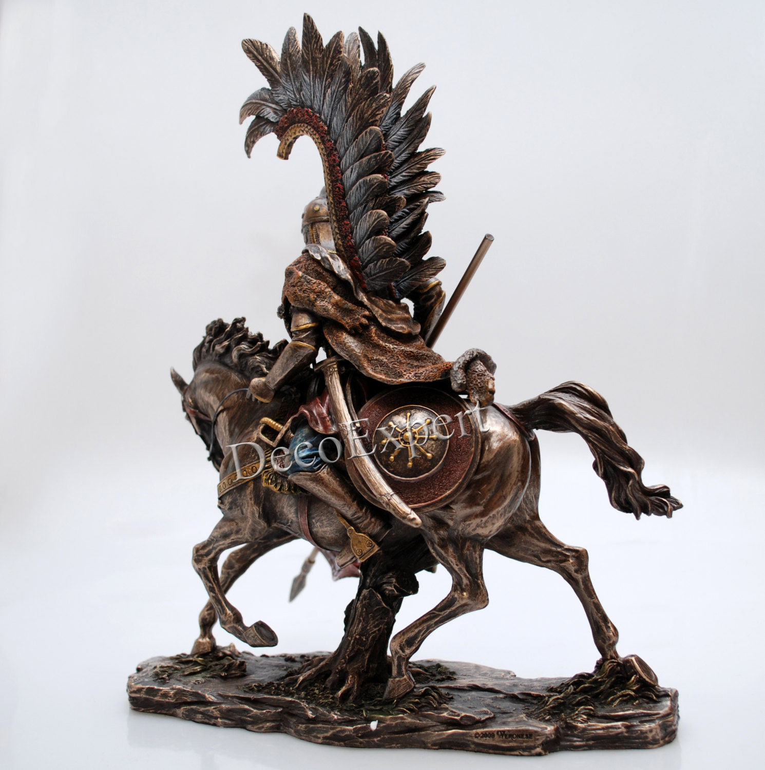 Unique Polish Hussar Winged Cavalry Bronze * ** Free Shipping Everywhere ***
