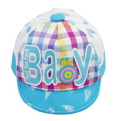 Baby Girl Beaked Infant Sun Protection Cap Toddler Breathable Hat BLUE 3-6M