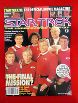 Star Trek Undiscovered Country VI Movie Magazine Collector's Edition Pos... - $4.94