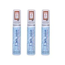 Dr Mist Natural Aluminum Free Deodorant Spray 75ml X 3sets, Removes Body... - $36.00