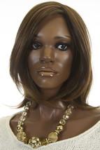 Drew 6/33 Brunette Medium Lace Front Monofilament Heat Friendly Jon Renau Wigs - $304.29