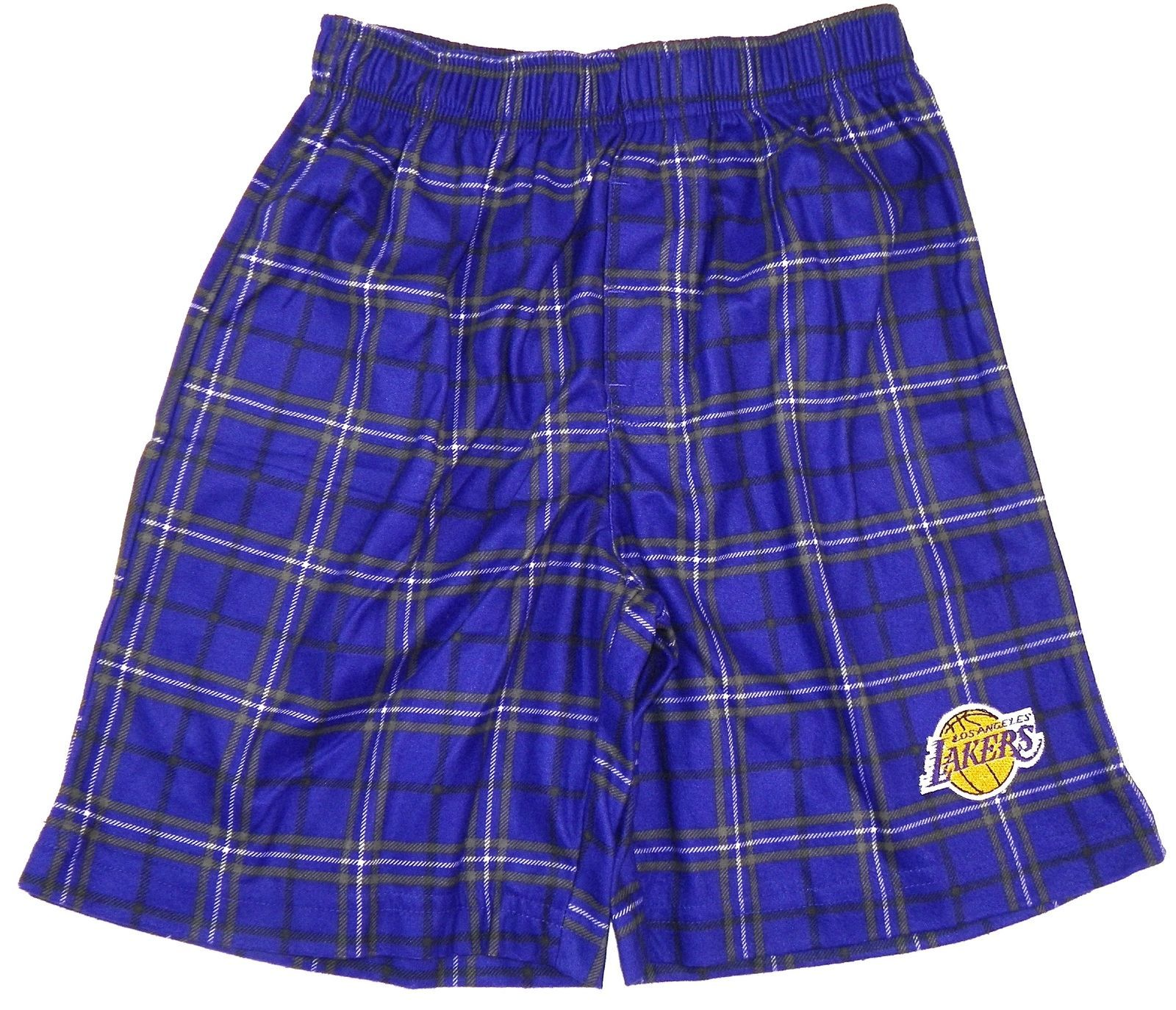Boy's 4-7 Los Angeles Lakers Pajama Shorts Sleep Lounge NBA Basketball