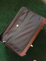 "Vtg American Tourister Luggage Ultra Light Tech 25 "" Suitcase Wheels & Handle - $24.20"