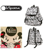 LeSportsac Disney Mickey Loves Minnie Mouse Voyager Backpack Free Ship N... - $115.50