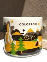 Starbucks Colorado You Are Here Collection 2014 14oz Mug Cup Green YAH EUC - $17.76