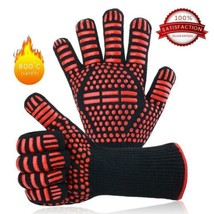 Gants de Barbecue, Grill - Cuisines Anti-Chaleur Jusqu'à 500°C, Heat...  - $24.37