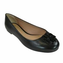 Tory Burch Lowell 2 Mestico Black Leather Size 8 Women's Ballet Flats - $197.99