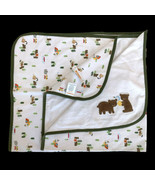 Gymboree Baby Blanket Bears Camping Honey Bees Skunk Security Lovey Cano... - $59.39