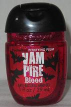 Bath Body Works PocketBac Hand Gel Vampire Blood Petrifying Plum 2018 - $8.86