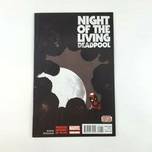 Night of the Living Deadpool #1 First Print Marvel Comic Book March 2014 - $2.99