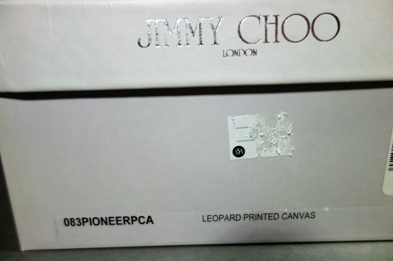 Jimmy Choo 36 Pioneer Leopard Print Canvas Dark Brown Leather Sandals Shoes NEW image 12
