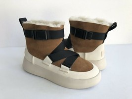 UGG CLASSIC BOOM BUCKLE CHESTNUT WATERPROOF ANKLE SNEAKER SHOE US 8 /EU ... - $139.32
