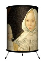 "LAMP-IN-A-BOX Mrs. Elizabeth Freak and Baby Mary Tripod Lamp 8"" x 8"" X 1... - $7.85"