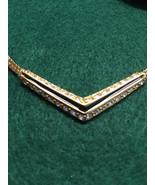 Swarovski Crystal Chevron Necklace - $45.00