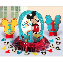 Mickey Mouse Fun To Be One Table Decorating Kit Birthday Party - $9.59