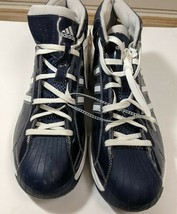 ADIDAS SM PRO MODEL BASKETBALL SHOES SIZE 15, NWT BLUE/WHITE - $40.00
