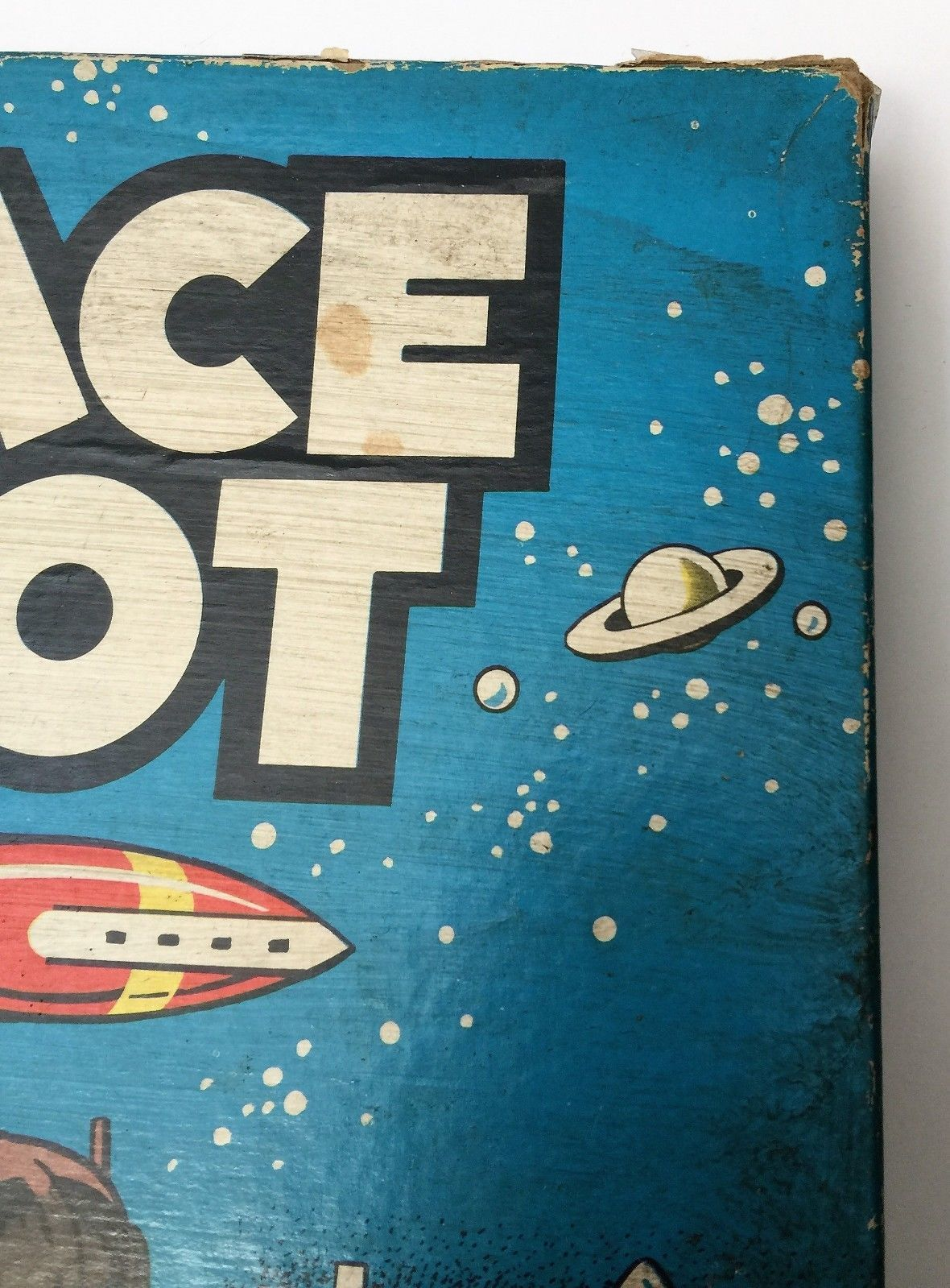 VTG Vintage 1951 Space Pilot by Cadaco Ellis Board Game HARD TO FIND HTF image 8
