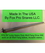 FPS WOLF FANG HD. DRIVER Works on all wolf fang & Ausable stake anchors ... - $16.88