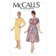 McCall Pattern Company M7086 Misses'/Women's Dresses, Size B5 - $14.21