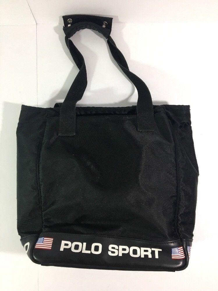 Vine Polo Sport Ralph Lauren Black Bag And 50 Similar Items