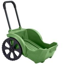 Outdoor Garden Cart 220 Lbs Capacity Portable Wagon Green Rust Resistant... - $198.49