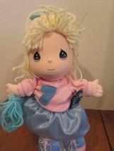 "Precious Moments FRIENDSHIP Doll CASSIE CHEERLEADER 11"" - $31.68"