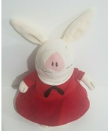 "Olivia Pig Plush Doll Stuffed Animal 9"" Red Sailor Dress Patriotic 2008 - $11.63"
