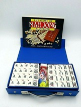 New Mah-Jongg Set with Travel Case and Instructions - Tiles Sealed - $45.00