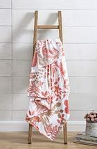 All American Collection Belize Blush Plush Throw | Decorative Abstract F... - $19.79