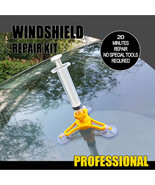 SUPER WINDSCREEN REPAIR KIT Auto Glass Windshield Windscreen Instrument ... - $8.52