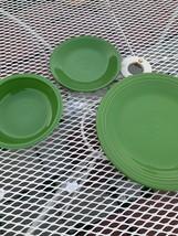 fiestaware vintage Green Tgree Piece - $49.50