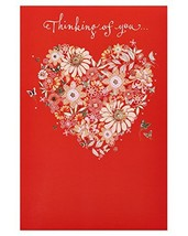American Greetings Thinking of You Valentine's Day Card with Foil, 6-Count - $7.94