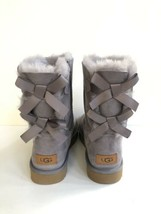 UGG BAILEY BOW II GULL GREY SHEARLING WATER RESISTANT BOOT US 9 / EU 40 ... - €125,05 EUR