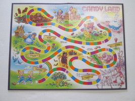 Hasbro 2001 Candy Land Candyland game board replacement - $5.89