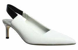 Via Spiga Womens V-Blake Porcelain White Size 8.5 M - $108.89