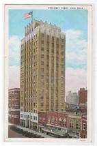 Broadway Tower Enid Oklahoma 1932 postcard - $6.44