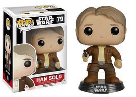 Star Wars The Force Awakens Han Solo Vinyl Pop Figure Toy #79 Funko New Nib - $8.79