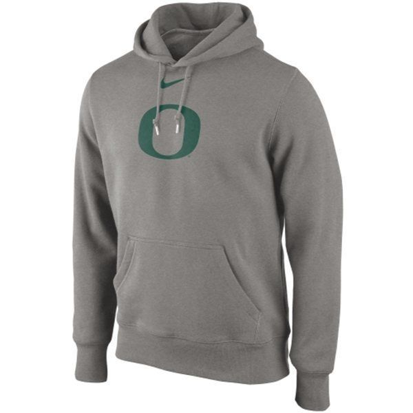 "Primary image for Nike Oregon Ducks Classic Pullover Hoodie Gray ""X-Large"""