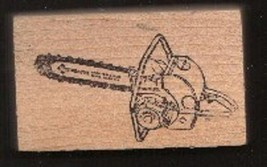 Homelite chain saw Rubber Stamp  made in america free shipping - $16.82