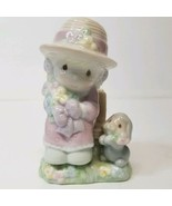 VTG Enesco Precious Moments 1997 Salt and Pepper Shakers Seasoned With A... - $15.01