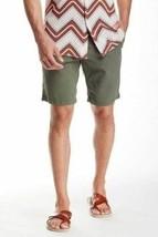 32 Men's Big Star MFG 1974 Shorts Straight Leg Cotton Twill Short Stone NEW