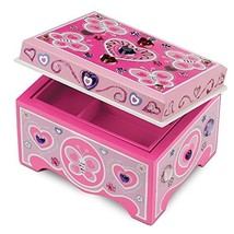 Melissa %26amp; Doug Decorate-Your-Own Wooden Jewelry Box Craft Kit - $16.93