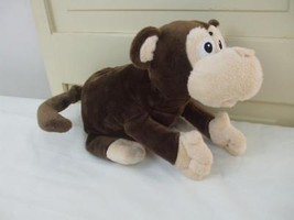 "Animated Laughs and Rolls Monkey Brown Plush Battery Operated Animal 12""... - $19.26"