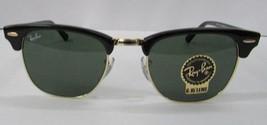 Ray-Ban Sunglasses 3016 W0365 Clubmaster Classic Black Unisex NEW 100% O... - $108.49