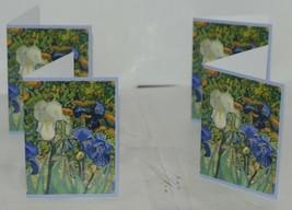 Caspari 87609 46 Van Gogh Irises 8 Assorted Boxed Notes With Envelopes image 2