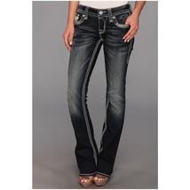 Rock Revival Women's Premium Boot Cut Denim Jeans Woven Pants Tricia B7 size 25